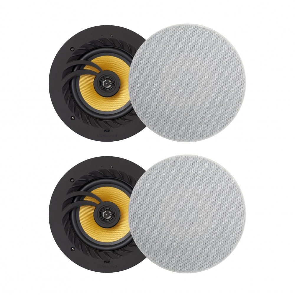 Lithe Audio Bluetooth 5 Wireless 6.5'' Ceiling Speaker (2 Master And 2 Passives)